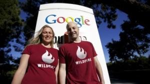 Wildfire-Gründer Victoria Ransom und Alain Chuard