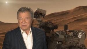 William Shatner, Curiosity: Gelassen wie es sich für einen Schiffsführer geziemt