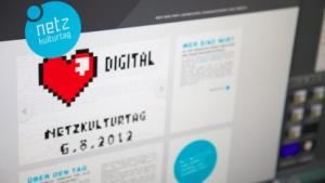 Die Internetseite des Netzkulturtages