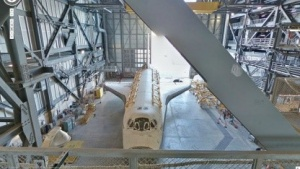 Google Street View: Spaceshuttle-Montagehalle