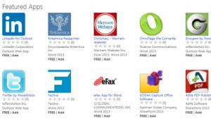 Microsoft Office 2013: Appstore für Office