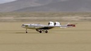 BWB-Prototyp X-47C: Winglets nach hinten, Triebwerke nach vorn
