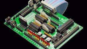 Das Gertboard ist als Erweiterung des Raspberry Pi gedacht.