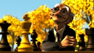 Pixar nutzte Subdiv erstmals in Geri's Game.