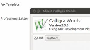 Calligra 2.5 verbessert Words, Sheets und das Zeichenrprogramm Krita.