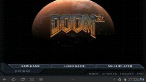 Doom 3 läuft auf Android, wenn auch noch sehr langsam.