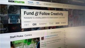 Kickstarter funktioniert vor allem für Hardware, Software und Videospiele.