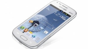 Samsung Galaxy S Duos: Dual-SIM-Smartphone mit Android 4 und 4-Zoll-Display