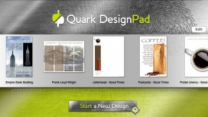 Prototyping am iPad: Layoutentwicklung mit Quark Designpad