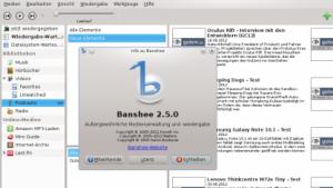 Banshee 2.5 verbessert die Unterstützung für Mac OS X.