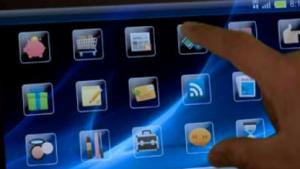 Touchscreens sollen selbst mit einem dünnen Wasserfilm funktionieren.