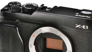 Bild der angeblichen X-E1 von Fujifilm