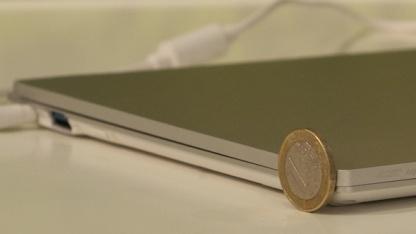 Acers neues Ultrabook ist leicht und flach.