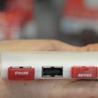 Buffalo: USB-Hub ohne oben und unten