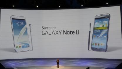 Samsungs Unpacked-Veranstaltung auf der Ifa 2012