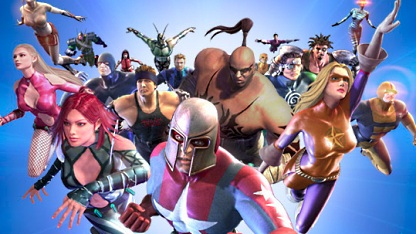 Artwork City of Heroes