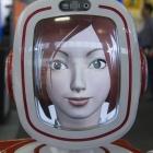 Roboter: Furo begrüßt Ifa-Besucher