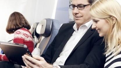 Condor-Passagiere können künftig über WLAN-Netzwerk auf den Bordserver zugreifen.