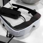 Cinemizer OLED: Auf dem Trecker mit dem Headtracker