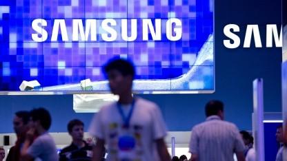 Samsung-Stand auf der Ifa 2012 in Berlin