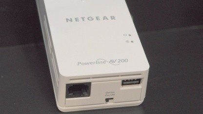 Powerline-Adapter mit USB-Schnittstelle