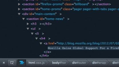 Firefox 17 Aurora mit Verbesserungen für Entwickler