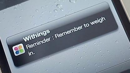 Withings' Online-Waage WS-30 kann sich auch direkt mit Smartphones verbinden.