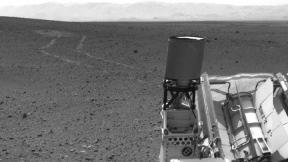 Auf dem Weg nach Glenelg: Curiosity