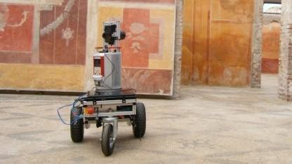 Irma3D in Ostia Antica: Roboter erstellt 3D-Karten.