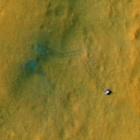 Curiosity: Satellit knipst Marsrover von oben