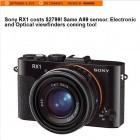 Gerücht: Sony bringt Kompaktkamera mit Vollformatsensor