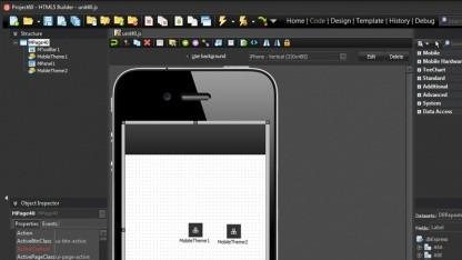 Mit HTML5 Builder sollen sich plattformübergreifende Anwendungen einfach erstellen lassen.