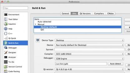 Mit Kits kann die Entwicklungsumgebung QT Creator feiner angepasst werden.