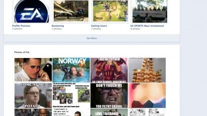 Spam-Attacke auf Facebook: Pornobilder bei Electronic Arts