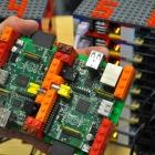 Miniplatine: 64 Raspberry Pi werden zu einem Supercomputer