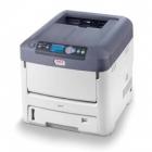 Oki: Laserdrucker mit weißem Toner
