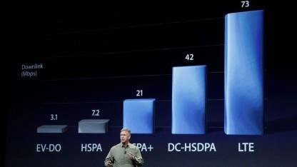 Apple Senior Vice President Phil Schiller bei der Vorstellung des iPhone 5