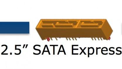 SATA-Express-Konnektoren und NGFF-Module kommen