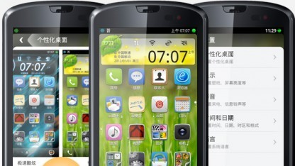 Aliyun OS soll Android-Komponenten nutzen.