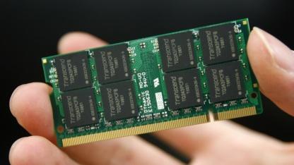 DRAM-Speichermodul aus dem Jahre 2010