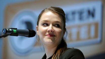 Autorin Julia Schramm im April 2012