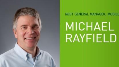 Mike Rayfield, wie er noch im Nvidia-Blog vorgestellt wird