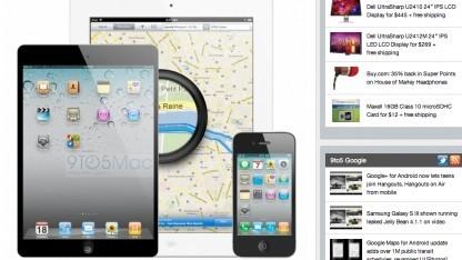 So stellt sich 9to5Mac das iPad Mini (l.) vor.