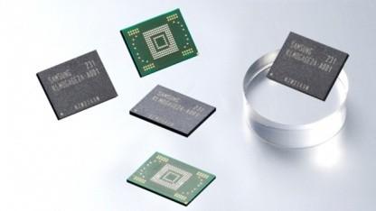 Samsungs eMMC Pro Class 1500 mit 128 GByte im FBGA-Gehäuse