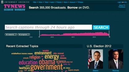 350.000 US-Nachrichtensendungen durchsuchbar