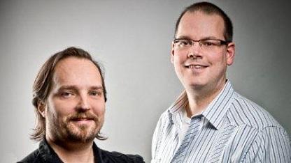Greg Zeschuk und Ray Muzyka