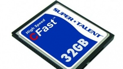 CFast-1.0-Karte mit 200 MByte/s