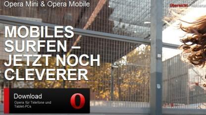 Opera Mini 7.5 erhält Smart Page.