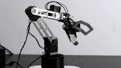 Roboterarm Baccus: Ergänzung für Partyroboter