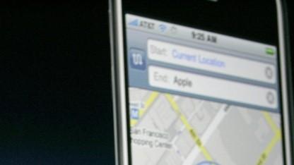 Als Google Maps noch Bestandteil von iOS war